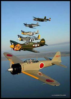 WW2 Formation. - Luigino Caliaro