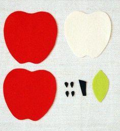 Quer dicas de artesanato com feltro? Que tal fazer uma linda maçã que pode servir para decorar a sua casa, como descanso de copo ou até mesmo como imã de geladeira? Passo a passo Anote a lista de material: Feltro na cor vermelho, amarelo, verde claro, verde escuro, marrom escuro. Molde de maçã. Tesoura afiada. …
