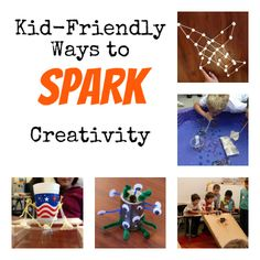 7 simple projects that encourage creativity and entertain children for hours.