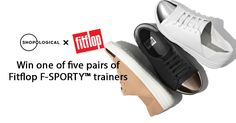 Shopological is giving away five pairs of Fitflop F-SPORTY™ trainers - I've entered and you should try your luck too!