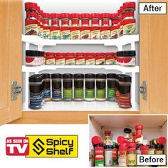 Saw this on tv and it might be a huge waste of money but I want it. SPICY SHELF