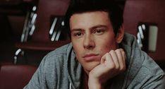 Finn listening to Faberry's duet in Season 2 (2011)
