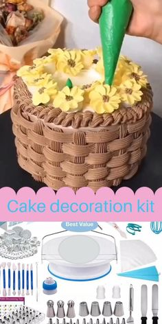 Cake Decorating Frosting, Decorator Frosting, Cake Decorating Set, Cake Decorating Videos, Cake Decorating Techniques, Bolo Paris, Indian Dessert Recipes, Sweet Bakery, Cute Desserts