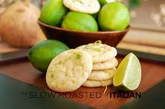 Lime in the Coconut Chewy Sugar Cookies