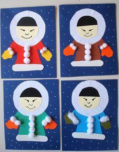 Ταξιδεύοντας από την Αρκτική στην... Ανταρκτική και πάλι πίσω! Πώς θα μπορούσαμε όταν όλα είναι γύρω παγωμένα και το κρύο δεν μας... Holiday Crafts, Fun Crafts, Crafts For Kids, Carnival Crafts, Winter Project, Winter Activities, Kindergarten Math, Kids And Parenting, Arctic