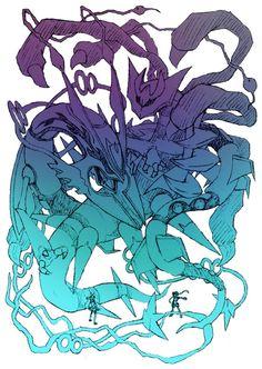 怪獣グルト — ギラティナとレックウザ