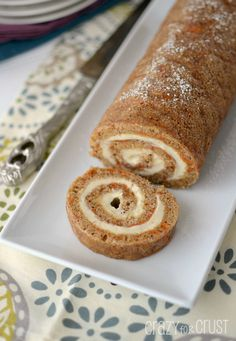 Carrot Cake Roll! (Doesn't use cake mix--yay! I love carrot cake but am not a fan of the boxed carrot cake mixes.)