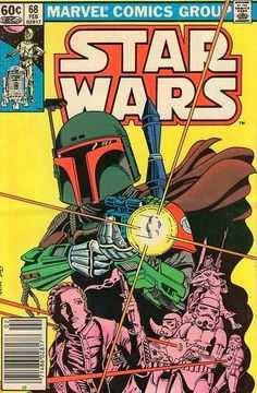 Retro Star Wars Art. #starwars #comicbooks