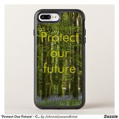 'Protect Our Future' - Customizable OtterBox Symmetry iPhone 8 Plus Case Iphone 8 Plus, Encouragement, Phone Cases, Future, Products, Future Tense, Gadget, Phone Case