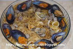 Fideua de pescado - Mis recetas Mycook