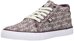 DC Womens Council Mid SP Skate Shoe Wine 85 M US ** To view further for this item, visit the image link.