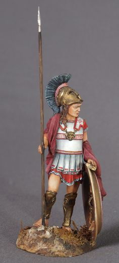 Kolobob abt ELITE Soldier: Greek Warrior with Spear