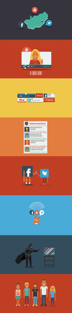 #BoschPM Social Media by Richard Bolland, via Behance