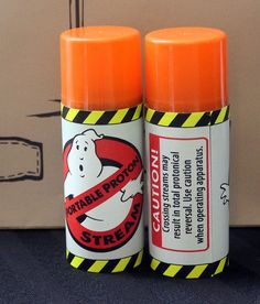 Ghostbusters Favors Kit with Proton Stream by GeekPrintsandGifts