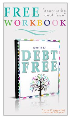 Paying off debt – FREE workbook!!