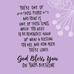 God Bless You Religious Birthday Card - Greeting Cards - Hallmark Christian Birthday Wishes, Happy Birthday Wishes For A Friend, Friend Birthday Quotes, Happy Birthday Messages, Happy Birthday Images, Birthday Greetings, Happy Birthday Daughter From Mom, Happy Birthday Beautiful Friend, Religious Birthday Wishes