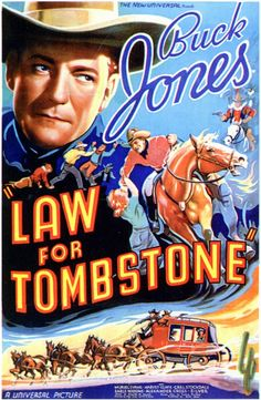 1937 movie posters | Law For Tombstone (1937)