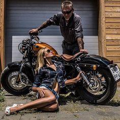 Mercenary Garage: Soviet Sportster  #Soviet #HarleyDavidson #Sportster #Mercenary #MercenaryGarage