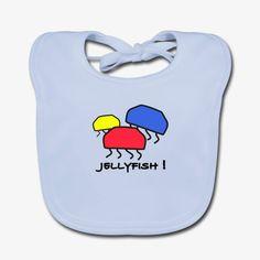 Jellyfish ! Baby Bio-Lätzchen  Weiches Lätzchen für Babys, 100% Baumwolle, Marke: Continental Clothing Continental, Jellyfish, Cotton, Kids, Medusa