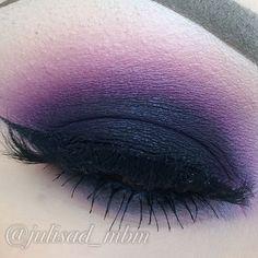 blackened purple