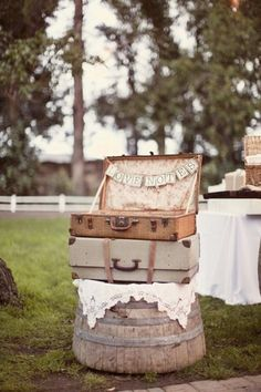 Brossie Belle Inspiration Crates & Suitcases