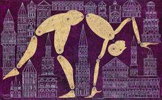 "thirdorgan: ""Carlos Estévez (Cuba, born 1969 in Havana) The Contortionist "" Carlos Estevez, Miami, Red Studio, Modern Drawing, Cuban Art, Art Archive, Sculpture, American Artists, Contemporary Artists"