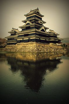 Temple in Matsumoto, Japan by mima_0226 on Flickr