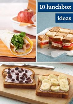 Family-Friendly Lunchbox Ideas -- Bring on the fun with these quick and easy lunchbox recipes that are sure to satisfy the whole family.