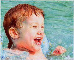 Pool Boy - Ballpoint Pen by =VianaArts on deviantART
