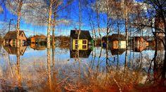 Daugavpils-SLOVENİA / Flood houses