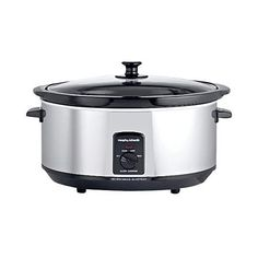 Morphy Richards 48715 6.5L Slow Cooker - Stainless Steel