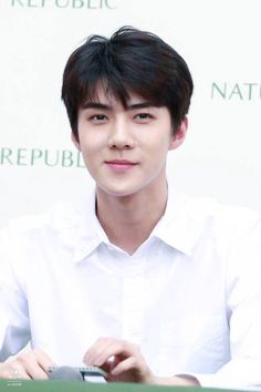 "sehun for ♡ "" Chanyeol, Kyungsoo, Hunhan, Exo Ot12, Rapper, Sehun Cute, Kim Minseok, Nature Republic, Xiuchen"
