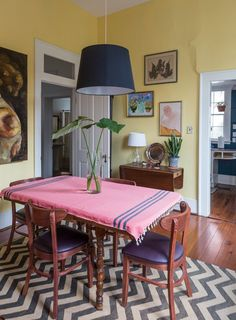 Megan and Sam's Mix of Antiques and Art With a New Orleans Speakeasy Past