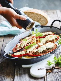Quick Healthy Meals, Healthy Food Choices, Easy Meals, Italian Recipes, Beef Recipes, Vegetarian Recipes, Healthy Recipes, I Want Food, Good Food