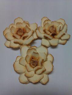 Flowers using the Spellbinders Rose Creations Dies