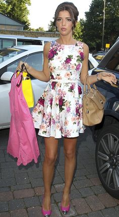 lucy mecklenburgh floral dresses - Google Search