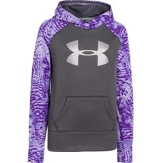 Under Armour Girls Armour Fleece Storm Printed Big Logo Hoodie - Dicks Sporting Goods $37.99 --Allison said she wants an under armour hoodie