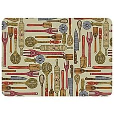 image of Bungalow Flooring Let's Cook 23-Inch x 36-Inch Kitchen Mat