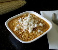 Ancho Cream Corn from Homesick Texan