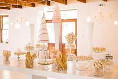Pretty in Pastels - Kleinevalleij {Real Wedding} | Confetti Daydreams - Candy buffet table ♥ #Kleinevalleij #Wedding #Pastel #Whimsical ♥  ♥  ♥ LIKE US ON FB: www.facebook.com/confettidaydreams  ♥  ♥  ♥