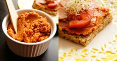 Fit  - Pomidorowy pasztet z soczewicy do smarowania.