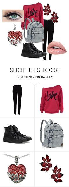 Untitled #81 by pipes29 on Polyvore featuring EAST, Converse and Lord & Taylor