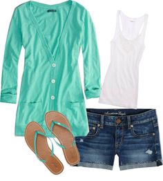"""""""Summer Night"""" by ckerr15 on Polyvore"""