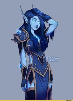 Faebelina-artist-Blood-elf-Warcraft-расы-4059215.png (1280×1758)
