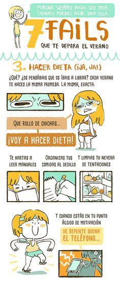 Srta.M ♥ Spanish, Humor, Comics, Thinking About You, Humour, Spanish Language, Moon Moon, Comic Book, Comic Books