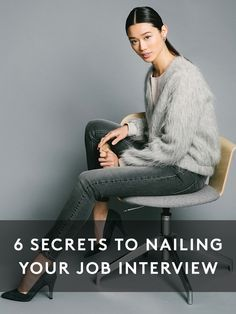 6 secrets to nailing your job interview