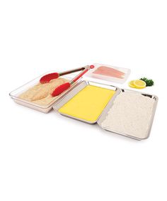 Loving this Food Prep Tray - Set of Four on #zulily! #zulilyfinds