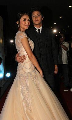 Stars date stars at Star Magic Ball - Yahoo! OMG! Philippines