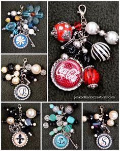 Beaded Bottle Cap Ch