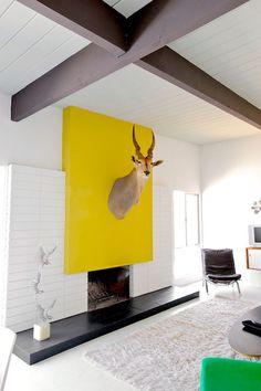 Jobba med färgblock i vardagsrummet – 16 bästa exemplen – Sköna hem
